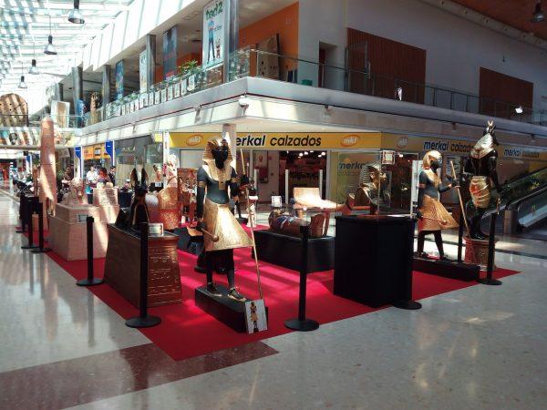 Museo Egipcio en Centro Comercial Peñacastillo