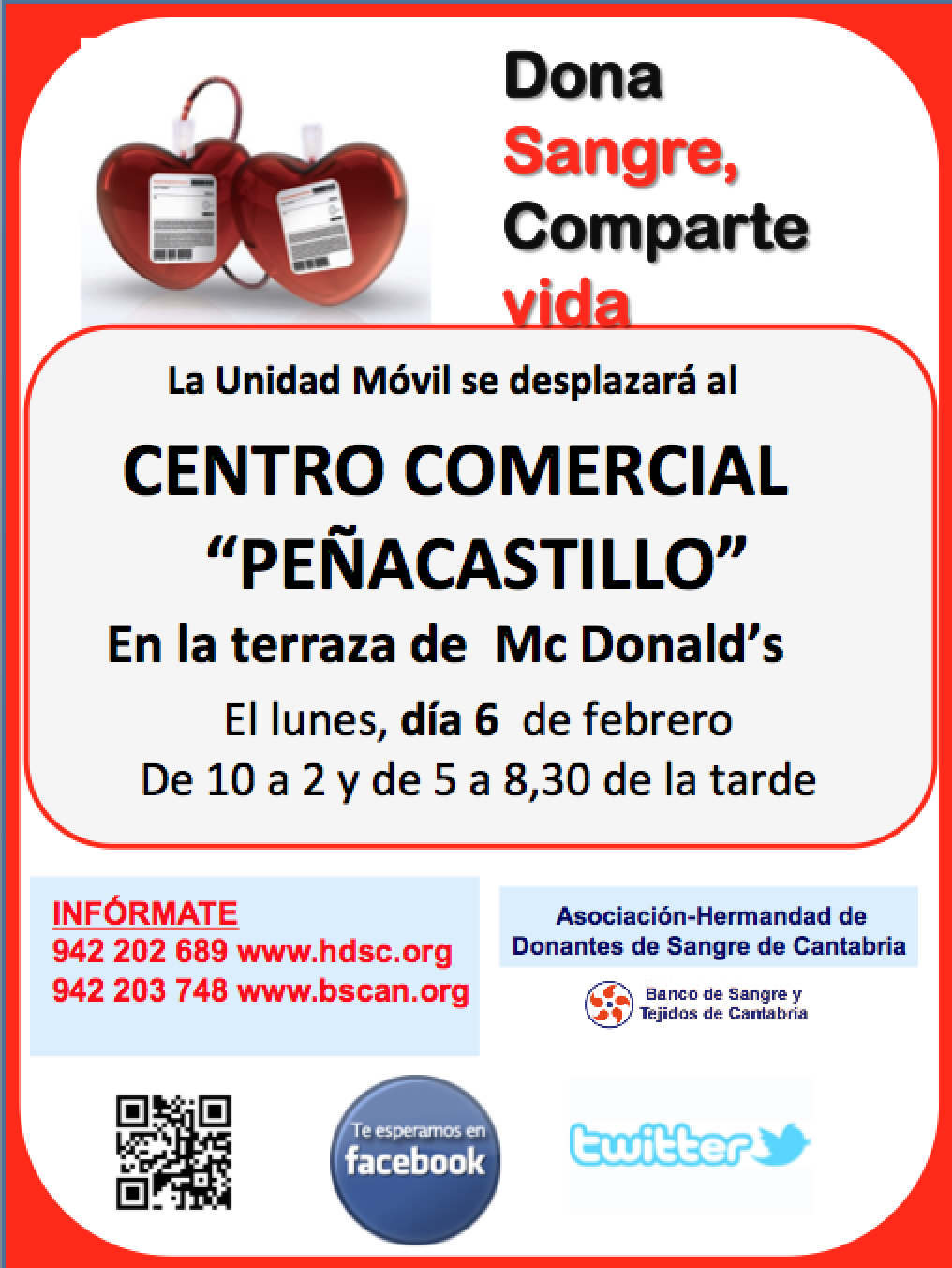 Donación de Sangre en Peñacastillo