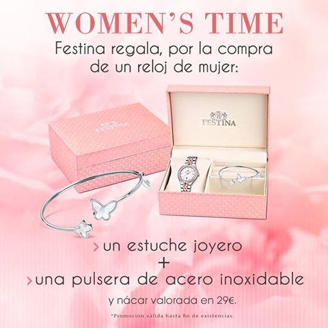 Promoción WOMEN'S TIME en TIME ROAD