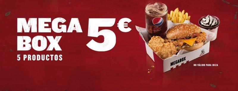 KFC oferta restaurante