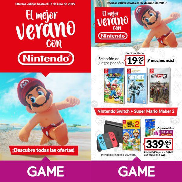 Los mejores juegos de Nintendo Switch y Nintendo 3DS desde 19,95€