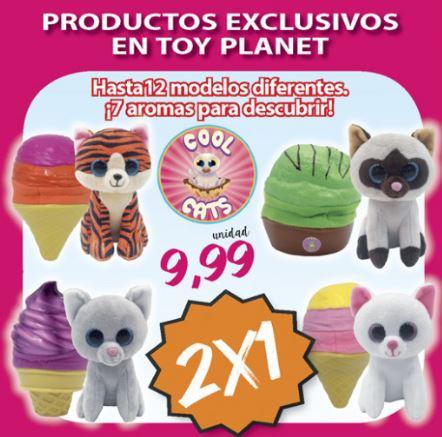 ¡Llévate 2 Cool Cats por el precio de uno en Toy Planet!