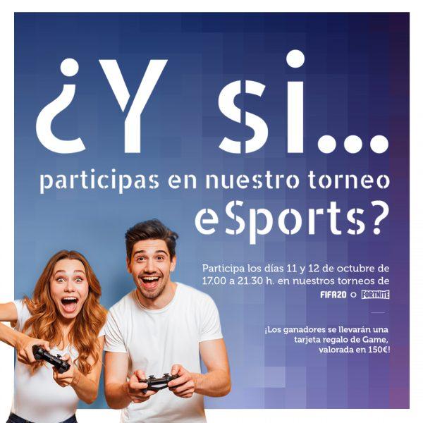 Torneo eSports de Centro Comercial Peñacastillo de Santander 2019
