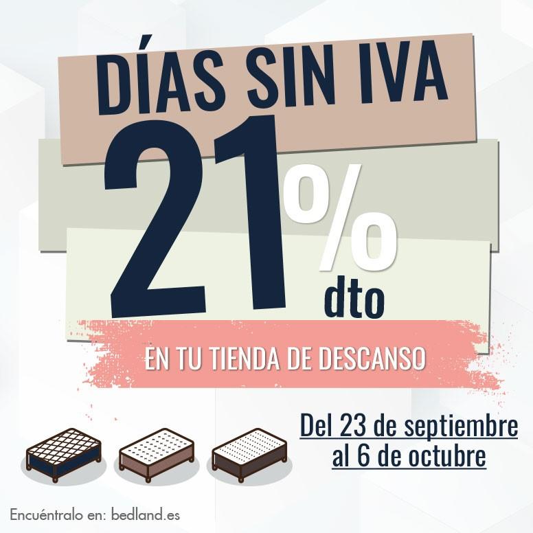 Descuentos del 21% en todos los productos en Bedland de Centro Comercial Peñacastillo