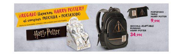 Al cole con Harry Potter y Toy Planet.