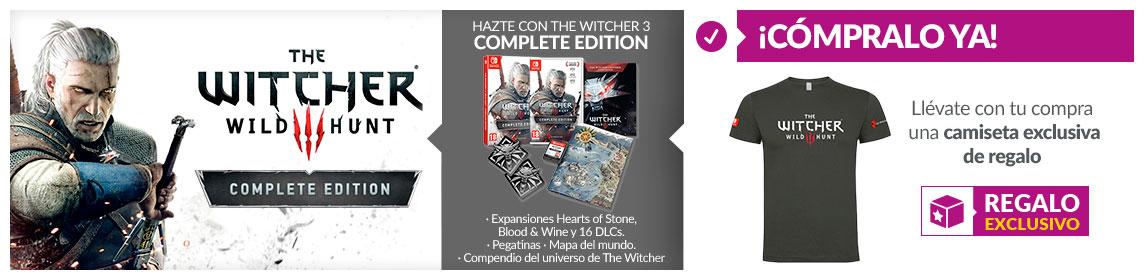 Consigue el nuevo juego de The Witcher en Game.