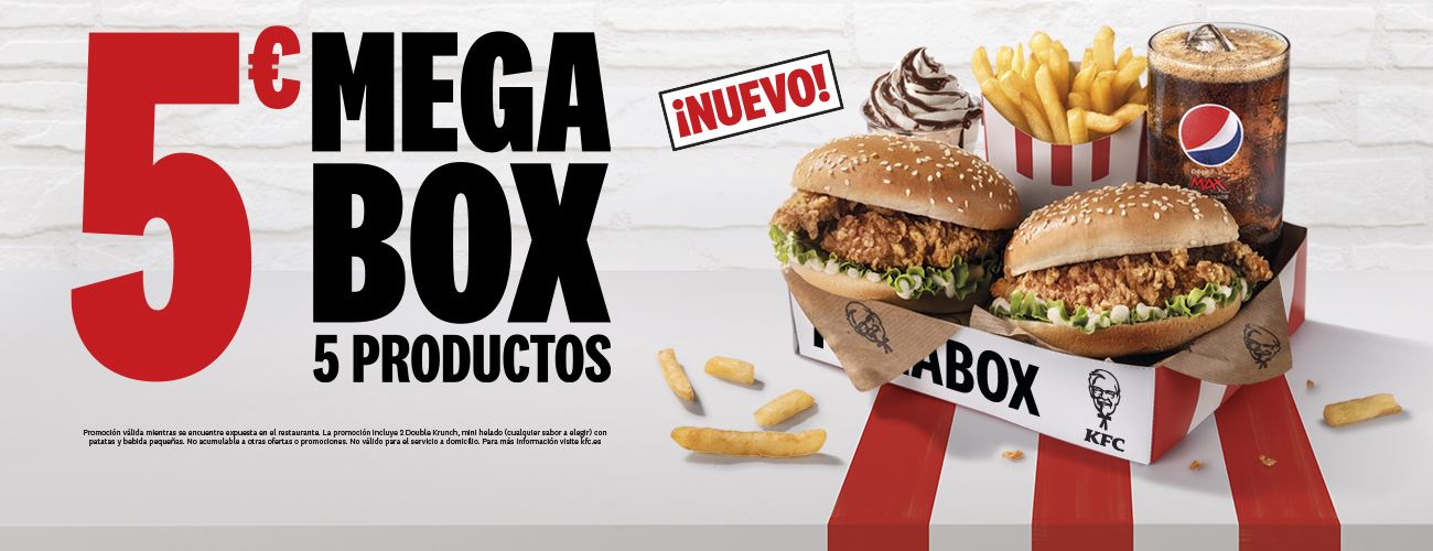 Mega Box en KFC.