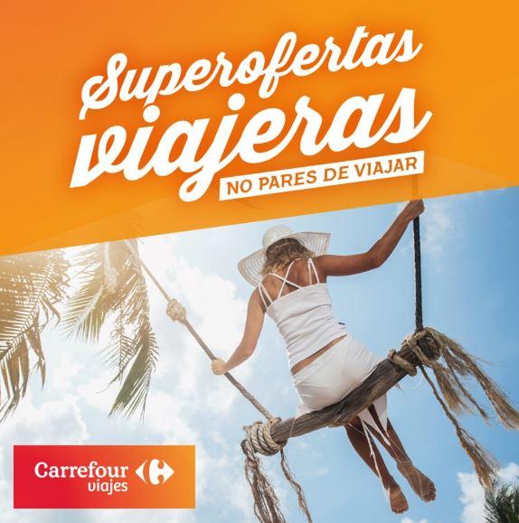 No pares de viajar con Viajes Carrefour.
