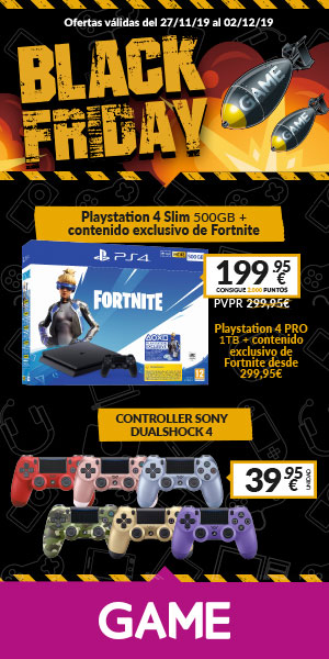 Black Friday en Game Peñacastillo