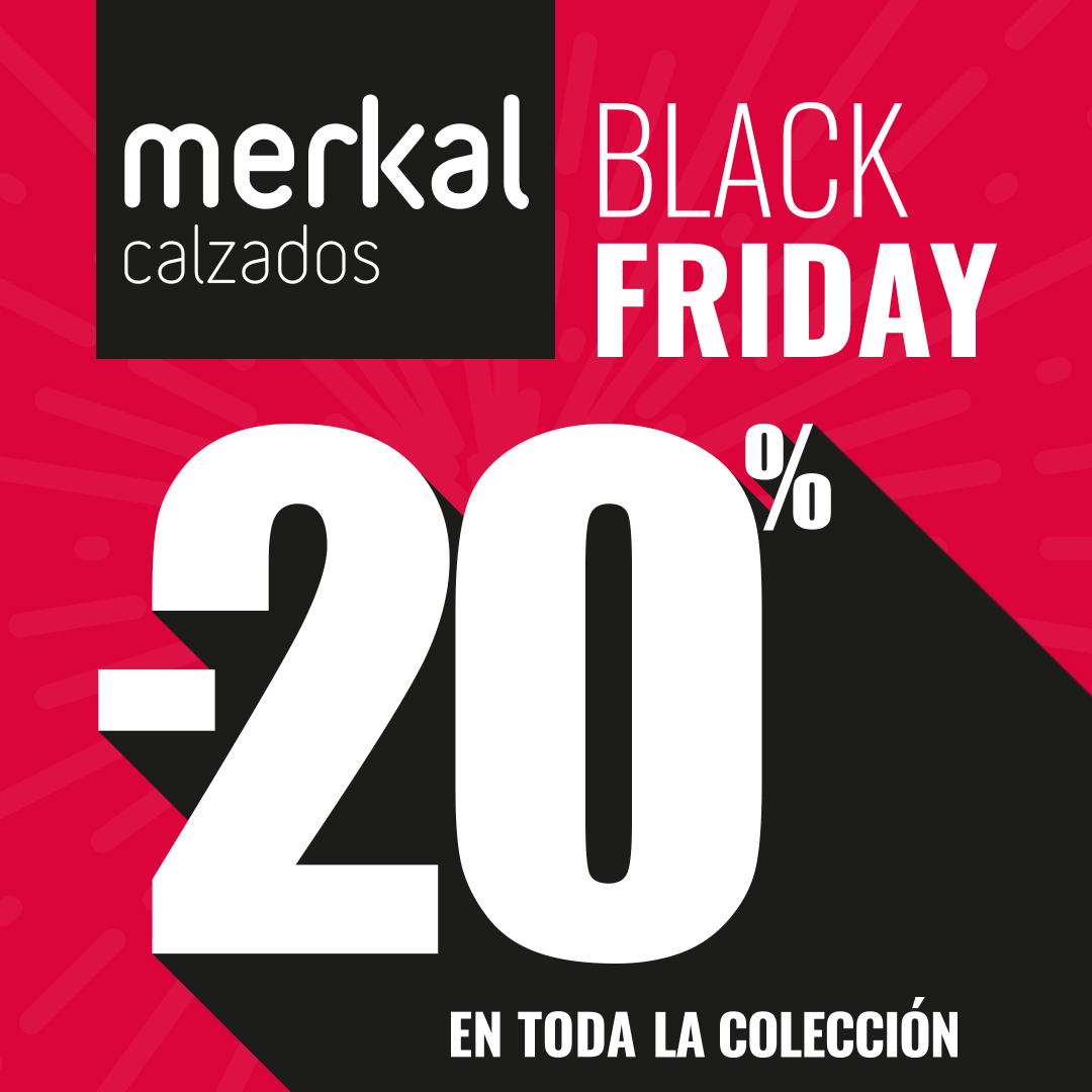 20% En toda la colección, solo en Merkal de Peñacastillo