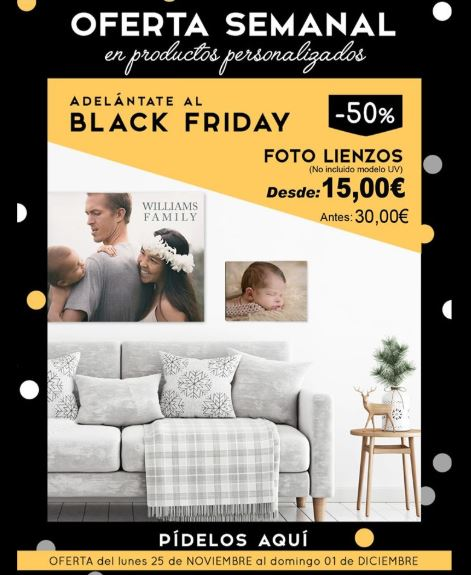 Black Friday en Foto Express Digital.
