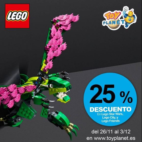 Tus juguetes lego con Toy Planet.