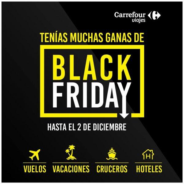 Black Friday en Viajes Carrefour.