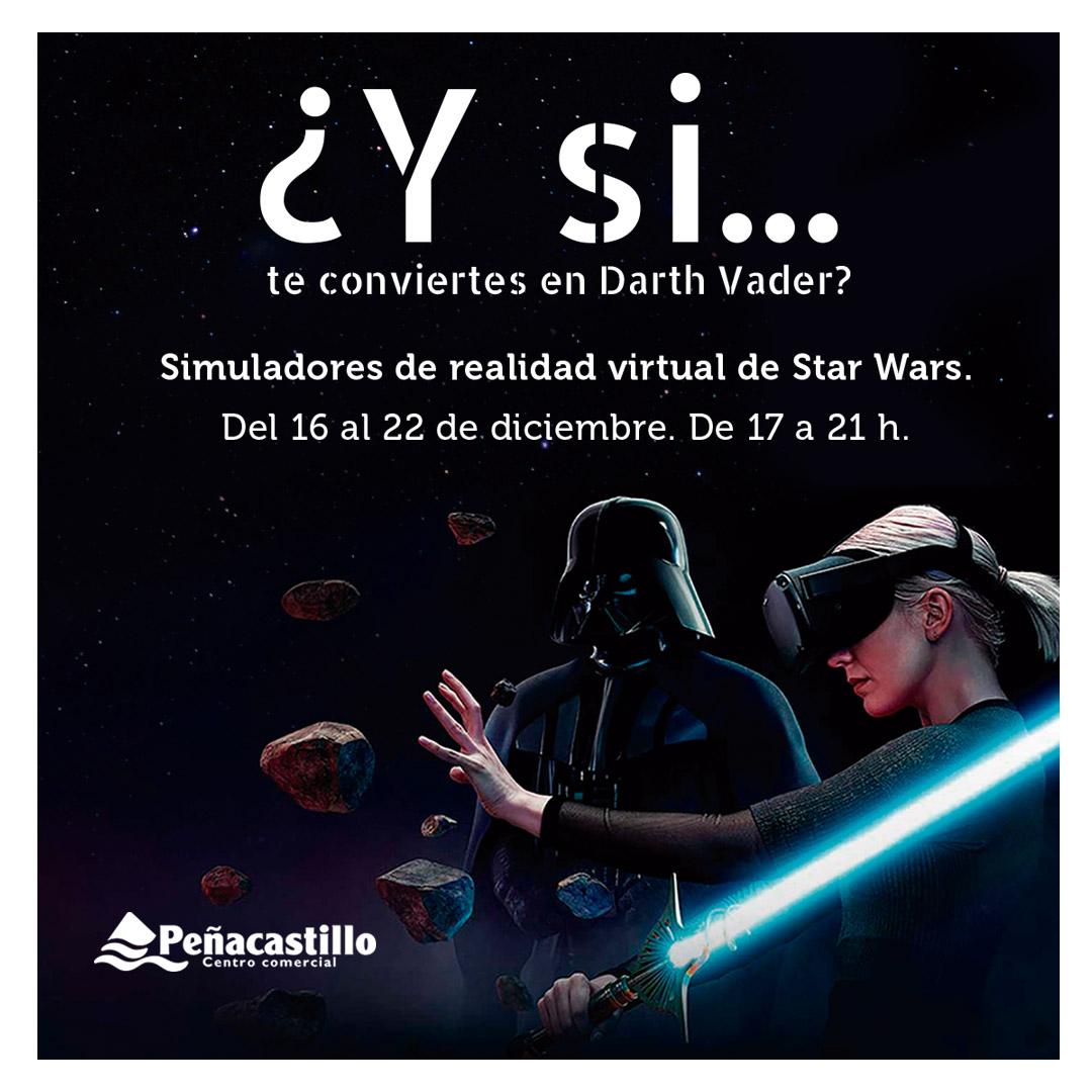 Simuladores de Realidad Virtual de Star Wars