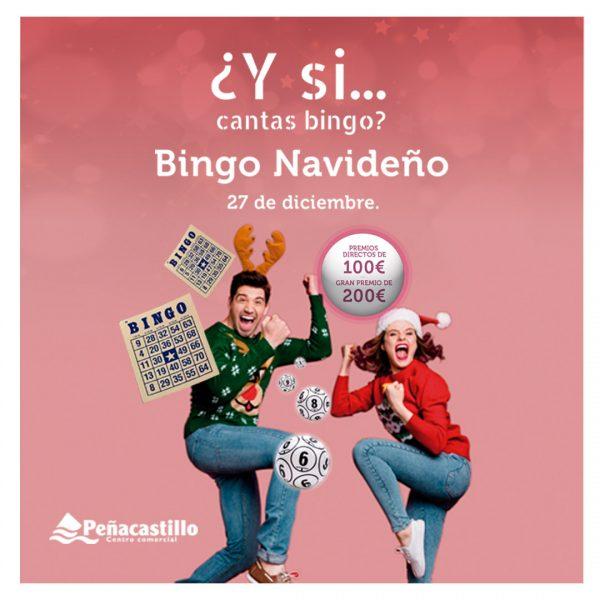 Canta Bingo navideño en Centro Comercial Peñacastillo y llévate hasta 200€