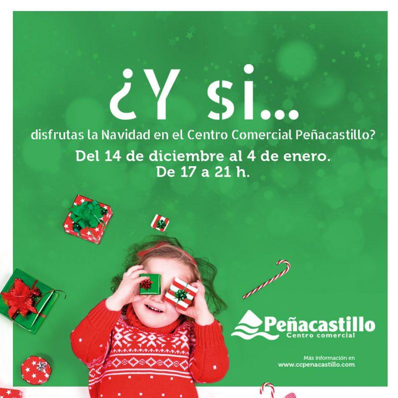 Celebra la Navidad en Centro Comercial Peñacastillo