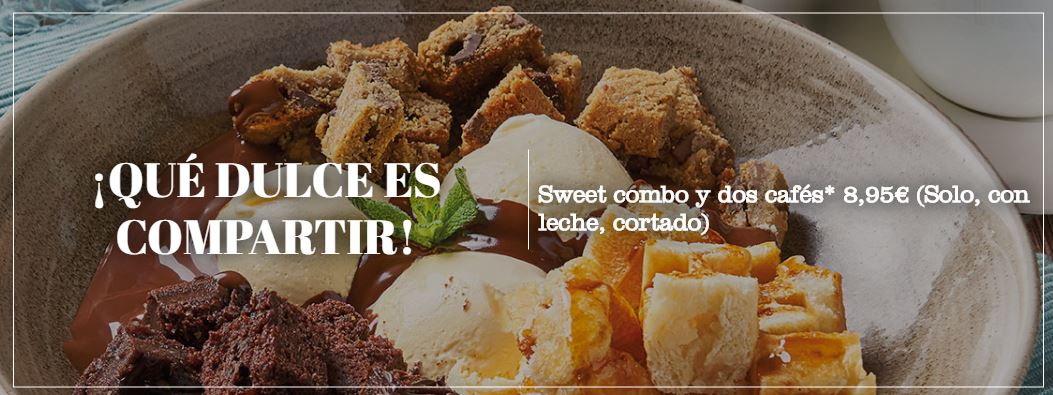 Qué dulce es compartir con Café y Té.