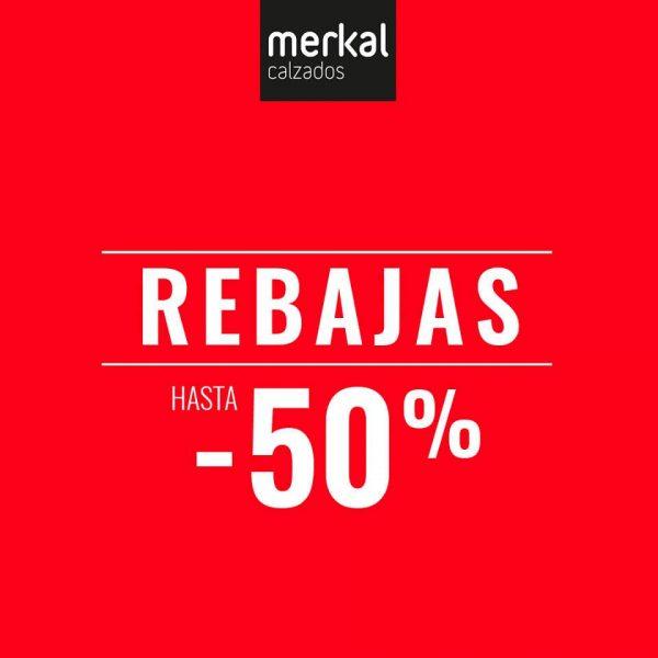 Ven a las rebajas de Merkal.
