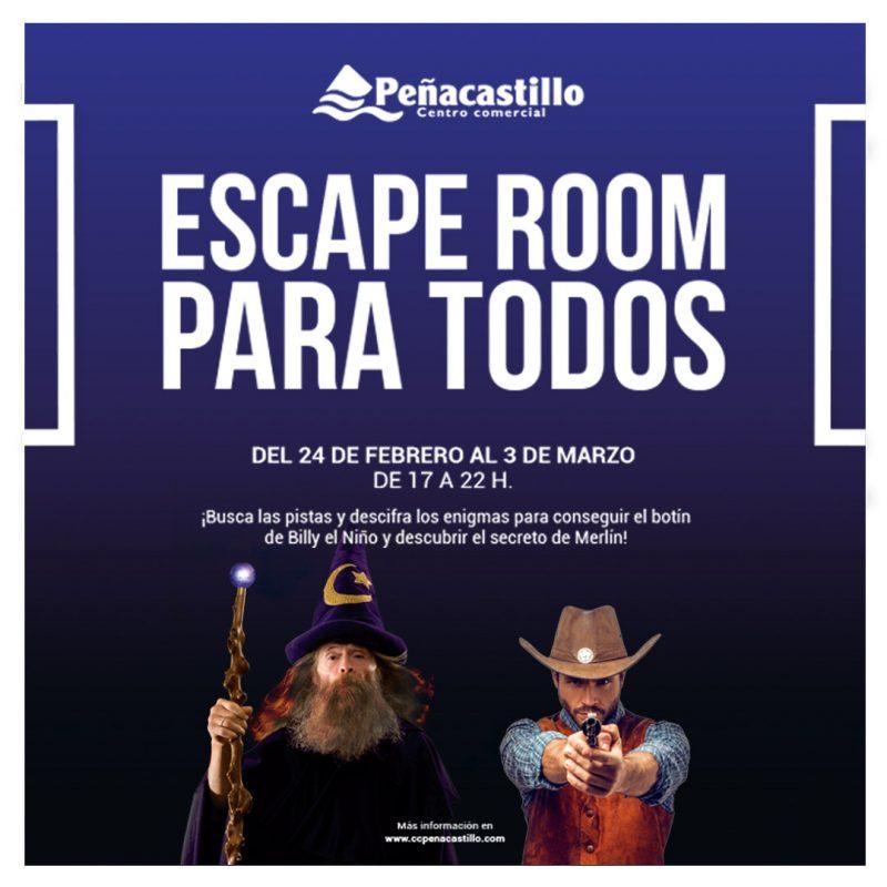 Estos Carnavales ven al Escape Room para todos