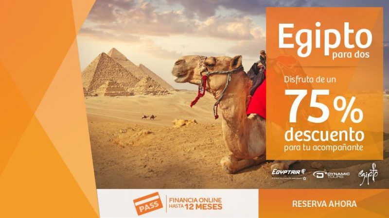 Egipto para dos con Viajes Carrefour.