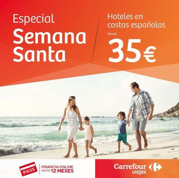 Tus vacaciones de Semana Santa con Viajes Carrefour